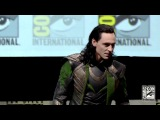 Tom Hiddleston as LOKI at Comic-Con, 20.07.2013