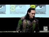 Tom Hiddleston as LOKI at Comic-Con, 20.07.2013