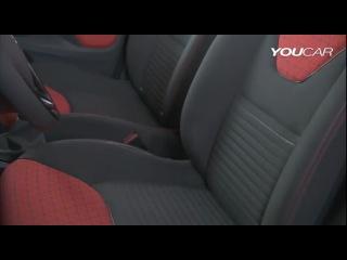 Новый хэтчбек Renault Clio 4 2013 (интерьер)